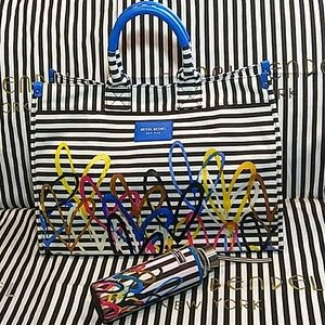 HB Limited Editionx James Goldcrow tote & canister